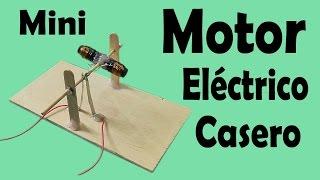 getlinkyoutube.com-Cómo Hacer Un Motor Eléctrico Casero (muy fácil de hacer)