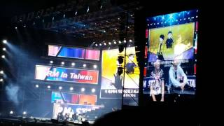 getlinkyoutube.com-20160129 RunningMan in Taiwan 成員們看應援影片