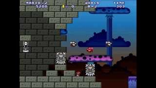 getlinkyoutube.com-Mario Forever - The Minus Worlds 1.5 : Worlds A and B Walkthrough [HD]