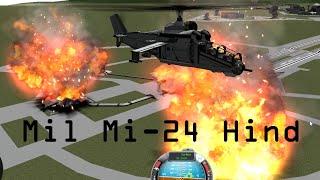 getlinkyoutube.com-KSP v.0.25 + v.0.90 Mil Mi-24 Hind