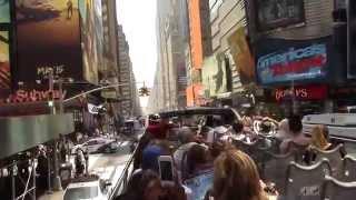 getlinkyoutube.com-New York City Big Bus Tour Uptown & Downtown BEST OF! ~ NostalgiaVHS