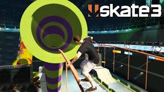 getlinkyoutube.com-SKATE 3: PISTA COM 4 OBJETIVOS! SENSACIONAL. (Skate Share Pack) #116
