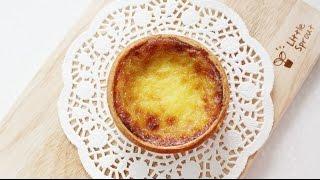 getlinkyoutube.com-[더스쿱] # 110. 겁나쉬운!! 에그타르트 만들기 / How to make Egg tart (Custard cream)