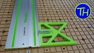 How to make a FESTOOL FS1400 Guide Rail Square for the TS55