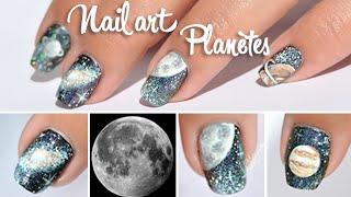 getlinkyoutube.com-Tuto Nail art - Planètes