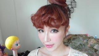 getlinkyoutube.com-B2B TRAMY崔咪'S 希臘女神泡麵捲瀏海教學
