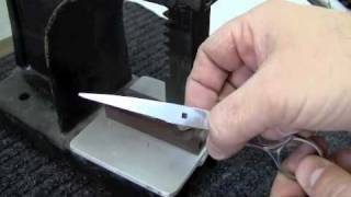 Scissors Sharpening Class: Reset Damaged Shear