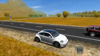 getlinkyoutube.com-City Car Driving 1.5.3| Volkswagen Beetle 2011 | [+DOWNLOAD LINK]