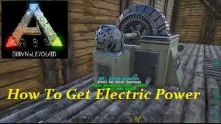 getlinkyoutube.com-Ark Survival Evolved- How To Get Electric Power