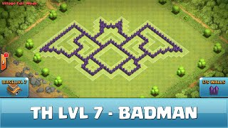 getlinkyoutube.com-★ Clash of Clans Troll Base ★ TH7 - Batman - Hybrid OLD VERSION
