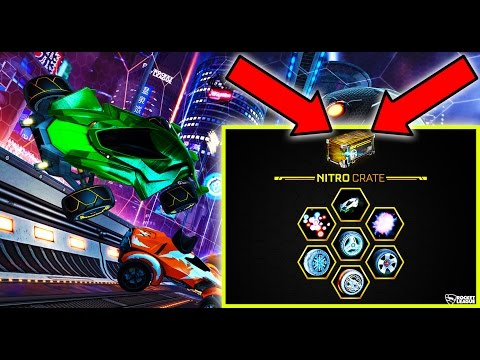 NEW NITRO CRATE, CAR, AND MAP!! ( Rocket League Update )