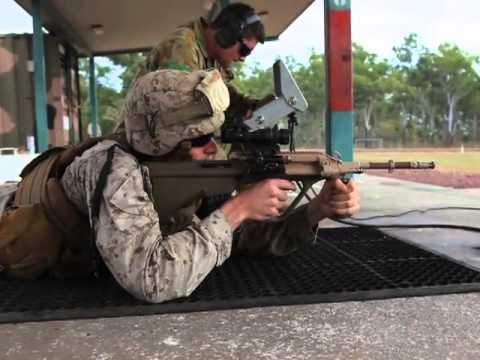 Marines and Australian Soldiers Shoot Each Other's Weapons
