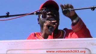 Morgan Tsvangirai - Full speech of address at Mkoba MDC-T Rally