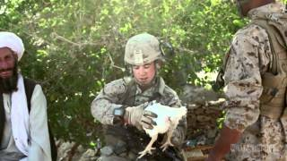 getlinkyoutube.com-1/8 Marines tired of MRE's improvise their daily meals in Afghanistan (2012)