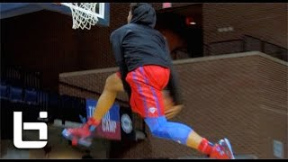getlinkyoutube.com-Miles Bridges Brings Freak Athleticism To Michigan State! Ballislife Official Junior Mixtape!