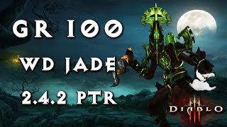getlinkyoutube.com-GR100 Witch Doctor ~ New OP Jade ~ Diablo 3 [2.4.2 PTR]