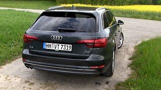 getlinkyoutube.com-2016 Audi A4 Avant 2.0 TDI B9 (190 HP) TEST DRIVE | by TEST DRIVE FREAK