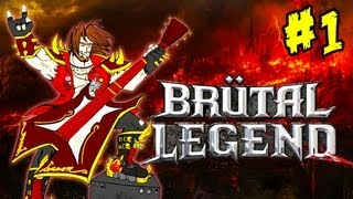 getlinkyoutube.com-Brütal Legend - Ep. 1 - Playthrough FR HD par Bob Lennon