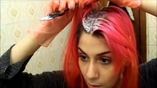 getlinkyoutube.com-Descolorindo a raiz dos cabelos em casa