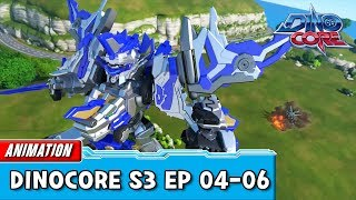 [DinoCore] Compilation | S03 EP04   06 | Best Animation For Kids | TUBA