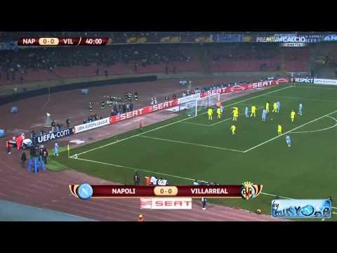 Napoli-Villarreal 0-0 (17/02/11) Raffaele Auriemma Highlights - Europa League HD By MikyNap