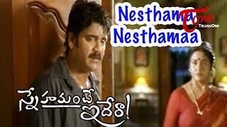 Snehamante Idera Songs - Nesthama Nesthamaa - Nagarjuna - Sumanth
