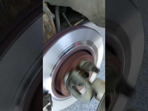 Renault Espace brake disc kicking repair