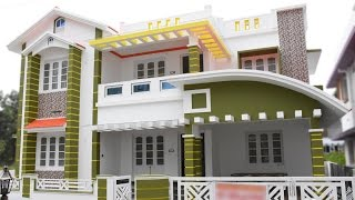 getlinkyoutube.com-Athani, 5 cents plot and 2225 sq ft, new villa for sale near Cochin Airport in Athani