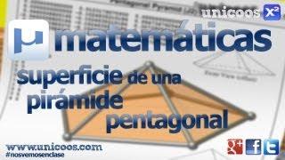 Imagen en miniatura para Area Piramide pentagonal