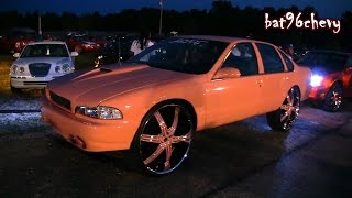 "getlinkyoutube.com-Peach Pink 1995 Impala SS on 30"" Wheels - 1080p HD"