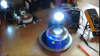 getlinkyoutube.com-Motor Bedini para luz de emergencia !!!