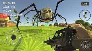 getlinkyoutube.com-Spider Hunter Amazing City 3D Android Gameplay #5
