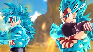 getlinkyoutube.com-Dragon Ball Xenoverse - SSGSS4 Goku & SSGSS4 Vegeta Fusion (1080p HD)