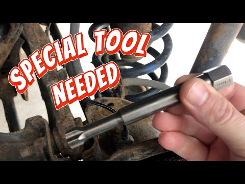 Ford Edge AWD rear wheel bearing replacement