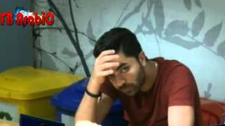 getlinkyoutube.com-انيس يقرأ عالحائط اسم سهيلة واهاب ونضرت عباس له  بعد ذكر اسمهم 23/12/2015