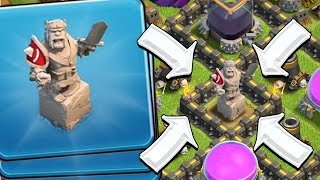 getlinkyoutube.com-THE ALMIGHTY BARB KING TROLL BASE in Clash of Clans!