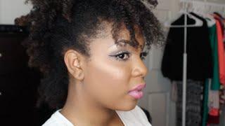 getlinkyoutube.com-Natural Hair   Quick Frohawk on Medium Length Natural Hair Tutorial