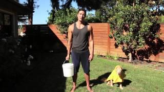 getlinkyoutube.com-Daniel Henney ICE BUCKET CHALLENGE