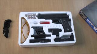 getlinkyoutube.com-unboxing of Laser Air Sports Gun Toy For kids 1 1 REAL SCALE ebay
