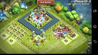 getlinkyoutube.com-Castle Clash - Best HBM O Base, TH17