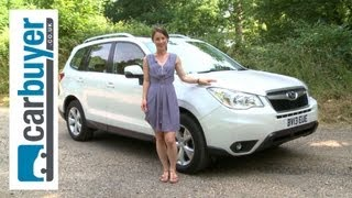 Subaru Forester SUV 2013 review - CarBuyer