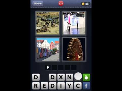 """Viendo el video """"4 Images 1 Mot Toutes Les Solutions 108 205"""" MP3 ..."""