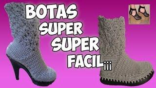 getlinkyoutube.com-BOTAS SUPER SUPER FACIL¡¡¡¡ - IRINA ASCENCIO