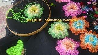 getlinkyoutube.com-Bordado Fantasia Panera Mariposa   y  Hoja   marimur  425