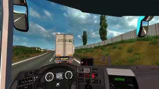 getlinkyoutube.com-Euro Truck Simulator 2 Bus trip to Torino with Setra Topclass S 431DT p1