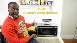 getlinkyoutube.com-Samsung Convection Microwave Smart Oven Review & Cooking Tips