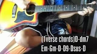 getlinkyoutube.com-Minsan by Eraserheads Guitar Cover w/ Chords