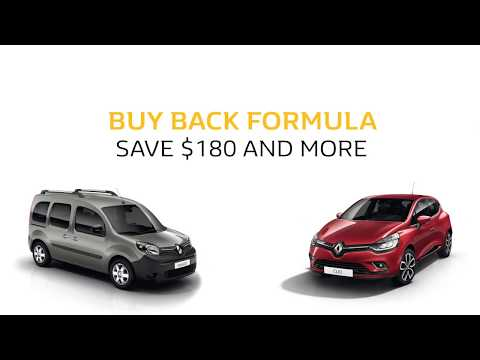 Renault Canada Buy Back : Early bird