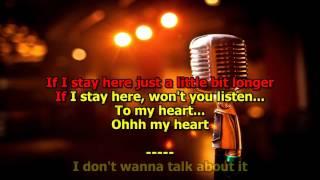 I Don't Want To Talk About It   (HD Karaoke) Rod Stewart