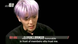 [ENG SUB] NCT - Taeyong Crying in Interview about his past